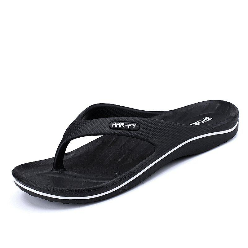 New Summer Men's Casual Slippers - BLACK 41