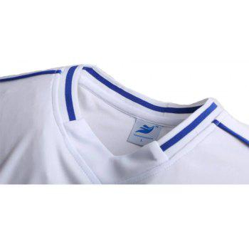 Men's Breathable Simple Style Sports Set - WHITE XL