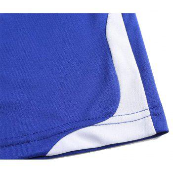Men's Breathable Simple Style Sports Set - ROYAL BLUE M