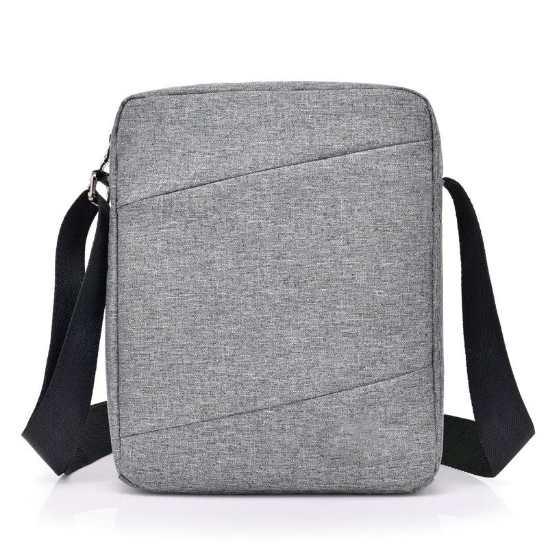 Messenger Shoulder Sports Backpack Student Large Capacity Bag - GRAY
