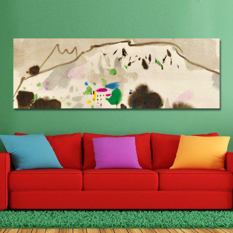DYC 10874 Fashion Abstract Print Art - CAMEL BROWN 40 X 120CM