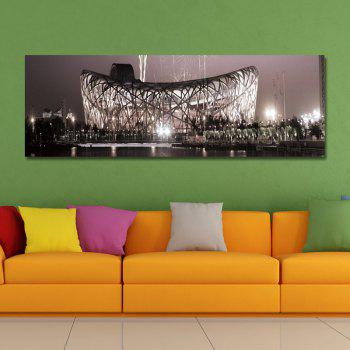 DYC 10894 Photography Nightscape of Prosperous City Print Art - BLACK
