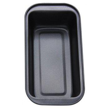 Rectangle Non Stick Loaf Carbon Steel Toast Bread Baking Pan - BLACK
