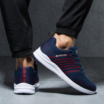 New Breathable Wearable Lightweight All-Match Sports Shoes - DENIM DARK BLUE 39