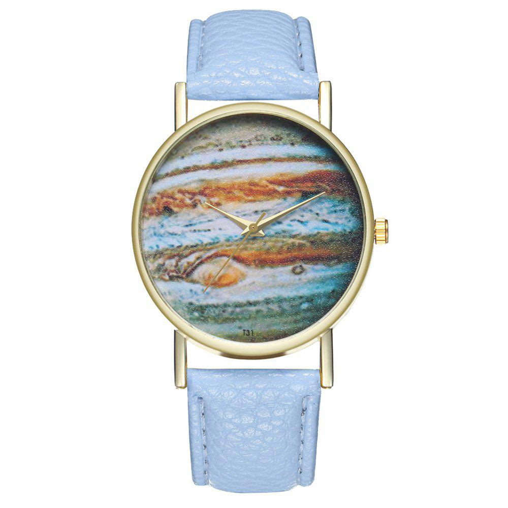 Zhou Lianfa Brand Idea Space Watch - LIGHT BLUE
