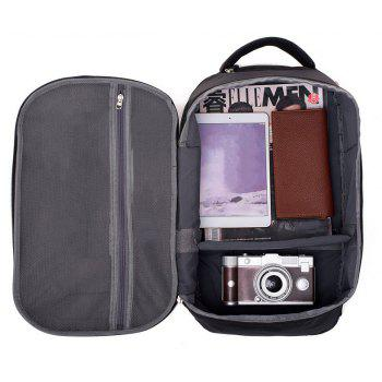 Nylon Backpack Large-capacity Business Anti-theft Multi-function Computer - GRAY 28*20*47CM