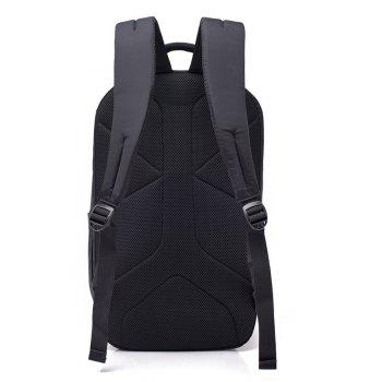 Nylon Backpack Large-capacity Business Anti-theft Multi-function Computer - BLUE 28*20*47CM