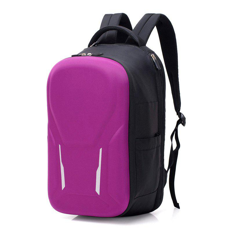 Nylon Backpack Large-capacity Business Anti-theft Multi-function Computer - BEAN RED 28*20*47CM