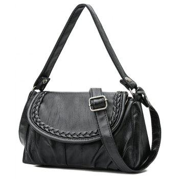 New Simple and Generous Lady's Single Rucksack - BLACK