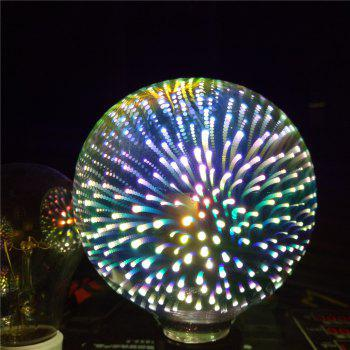 GodRays G95YH 3D Fireworks LED Lights Bulb Creative Colorful Lamp - multicolor 9.5 X 13 CM