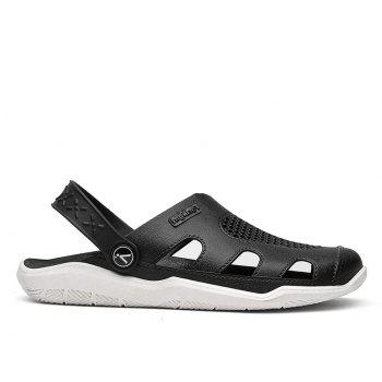 Breathable Comfortable Leather Sandals for Men - WHITE 43