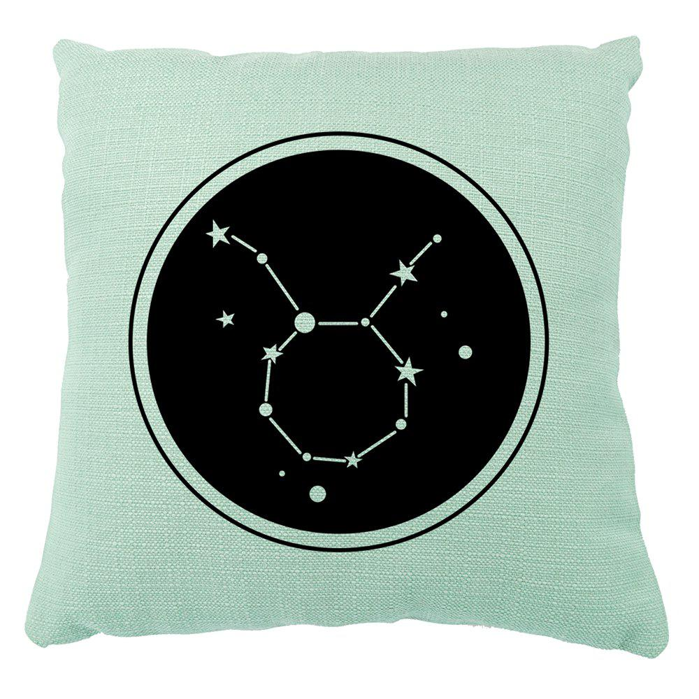 Abstract Constellations Cotton Cushion Sofa Home Furnishing Decor Pillowcase - multicolor 16INCH X16INCH
