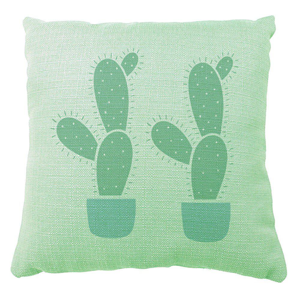 Cactus Party Decoration Pillow Case Sofa Bedroom Available Cusion Cover - multicolor A 16INCH X16INCH