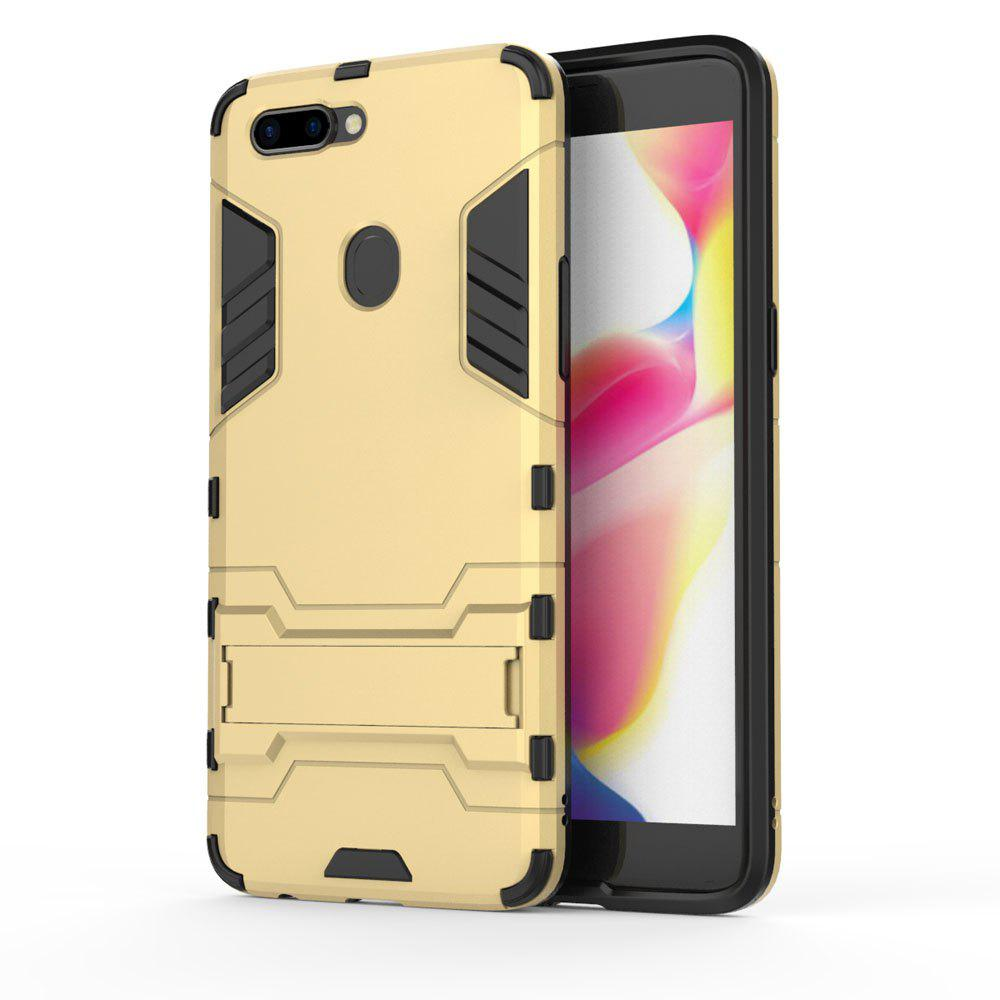For Oppo R11S Plus Cover Silicon Back Shockproof Protection Armor Case - GOLD
