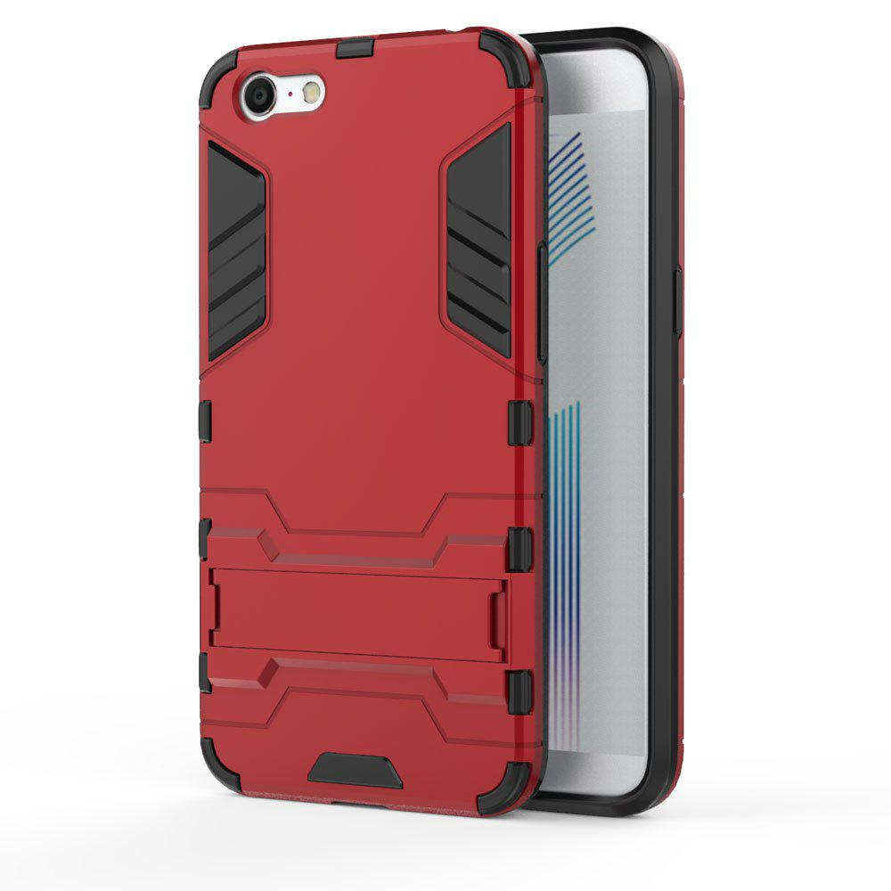 Pour OPPO A71 Housse Silicone Antichoc Protection Antichoc - Rouge