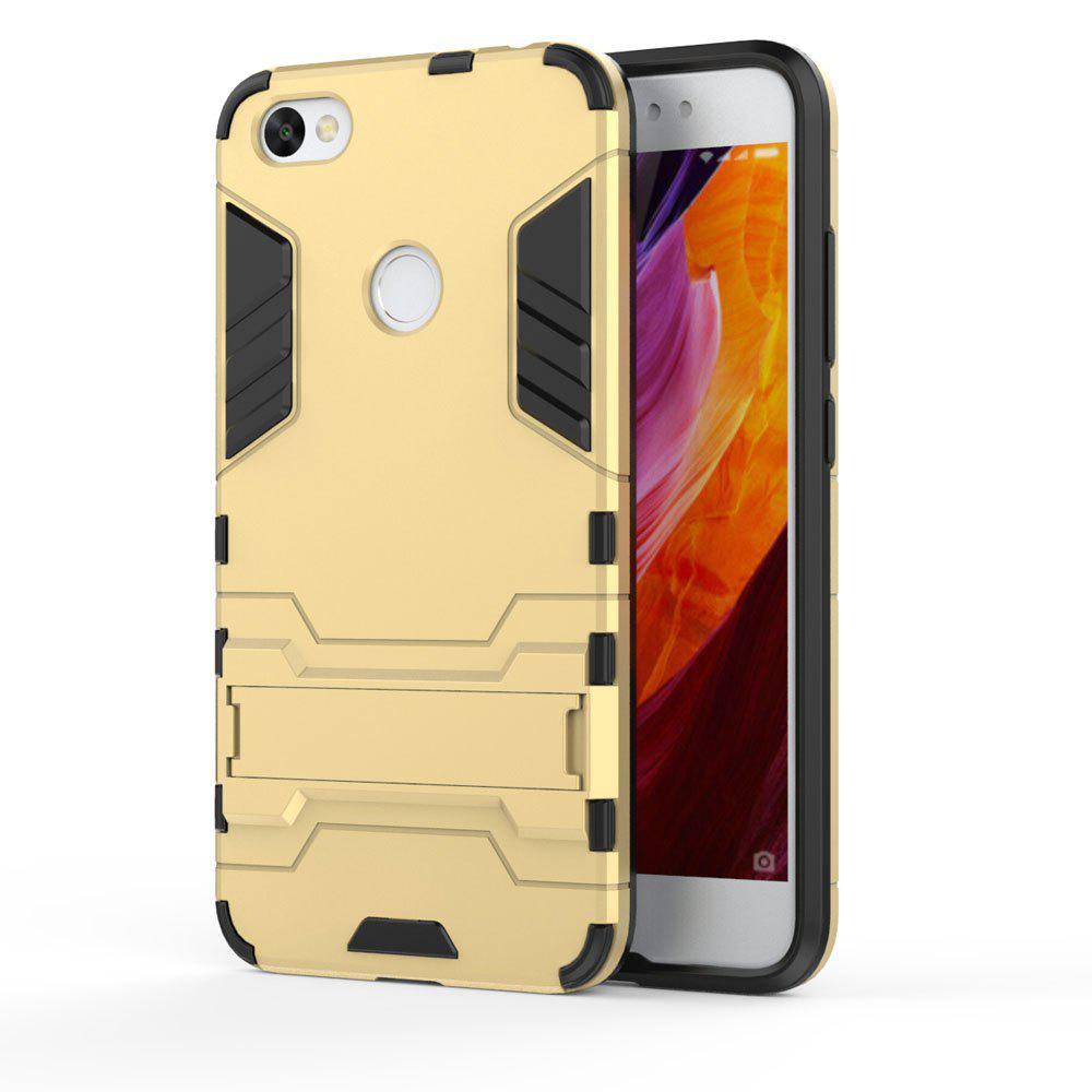 For Xiaomi Redmi Note 5A Cover Silicon Back Shockproof Protection Armor Case - GOLD