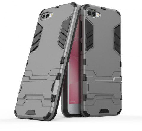 Armor Case For Asus Zenfone 4 Max ZC520KL Silicon Back Shockproof Protection Cover - GRAY