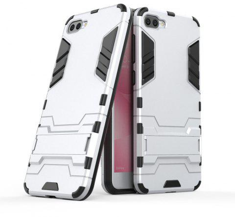 Armor Case For Asus Zenfone 4 Max ZC520KL Silicon Back Shockproof Protection Cover - SILVER