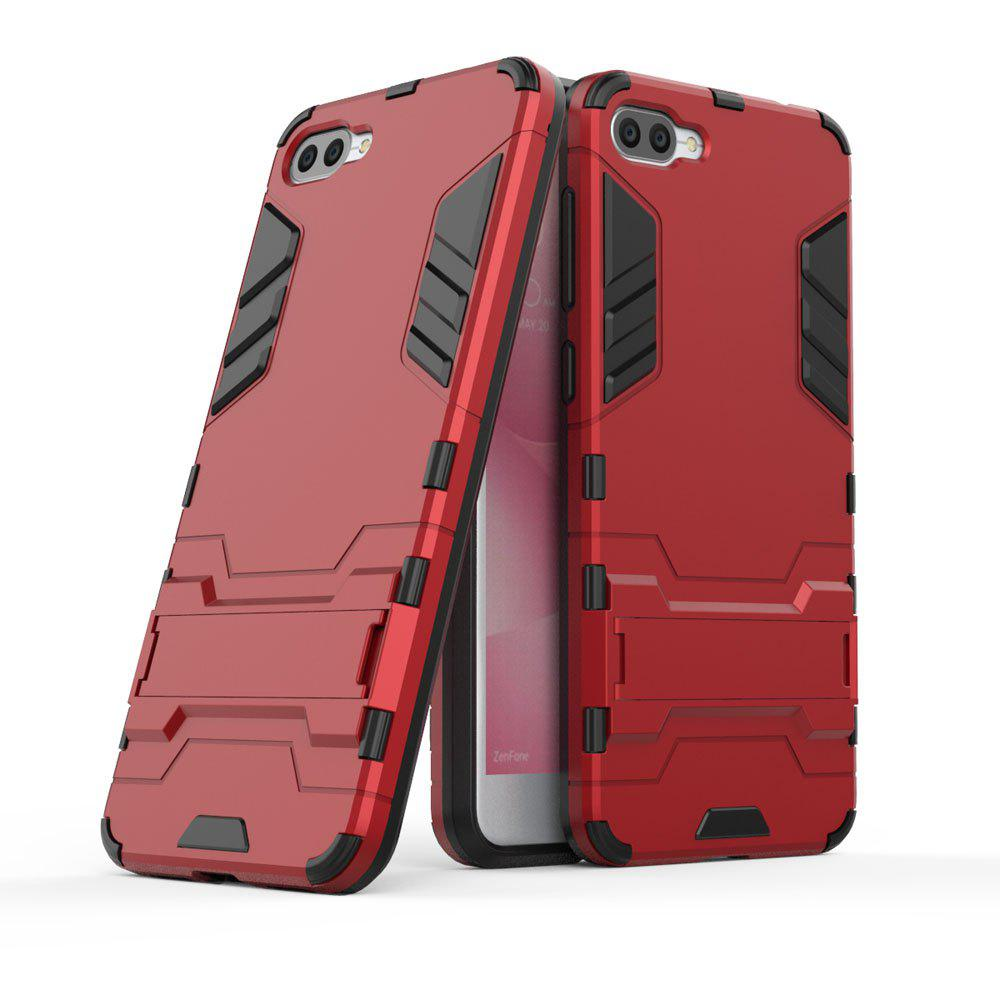 Armor Case For Asus Zenfone 4 Max ZC520KL Silicon Back Shockproof Protection Cover - RED