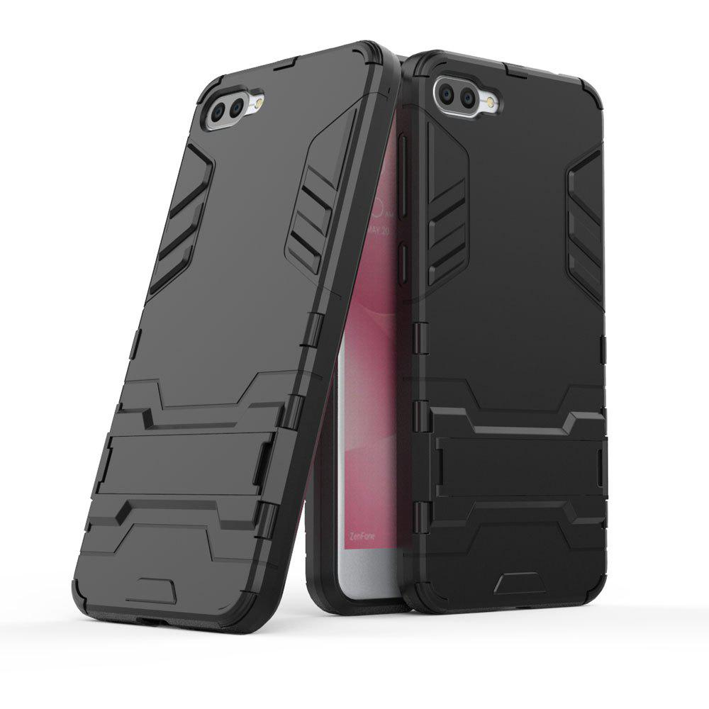 Armor Case For Asus Zenfone 4 Max ZC520KL Silicon Back Shockproof Protection Cover - BLACK