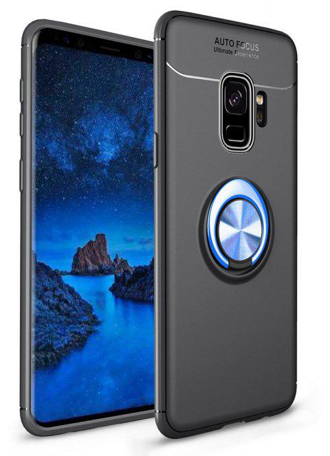 Ring Case for Samsung Galaxy S9 with Kickstand TPU Shockproof Protection Cover - BLUE
