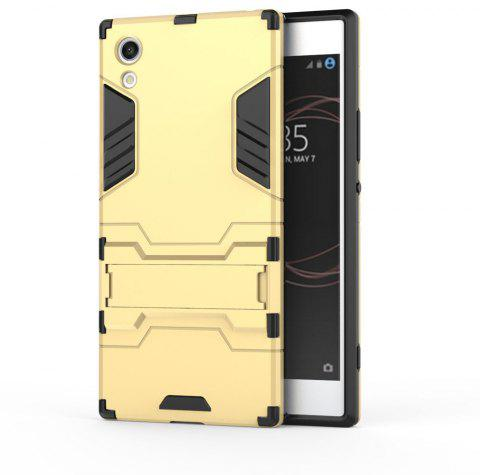 Armor Case For Sony Xperia XA1 Silicon Back Shockproof Protection Cover - GOLD