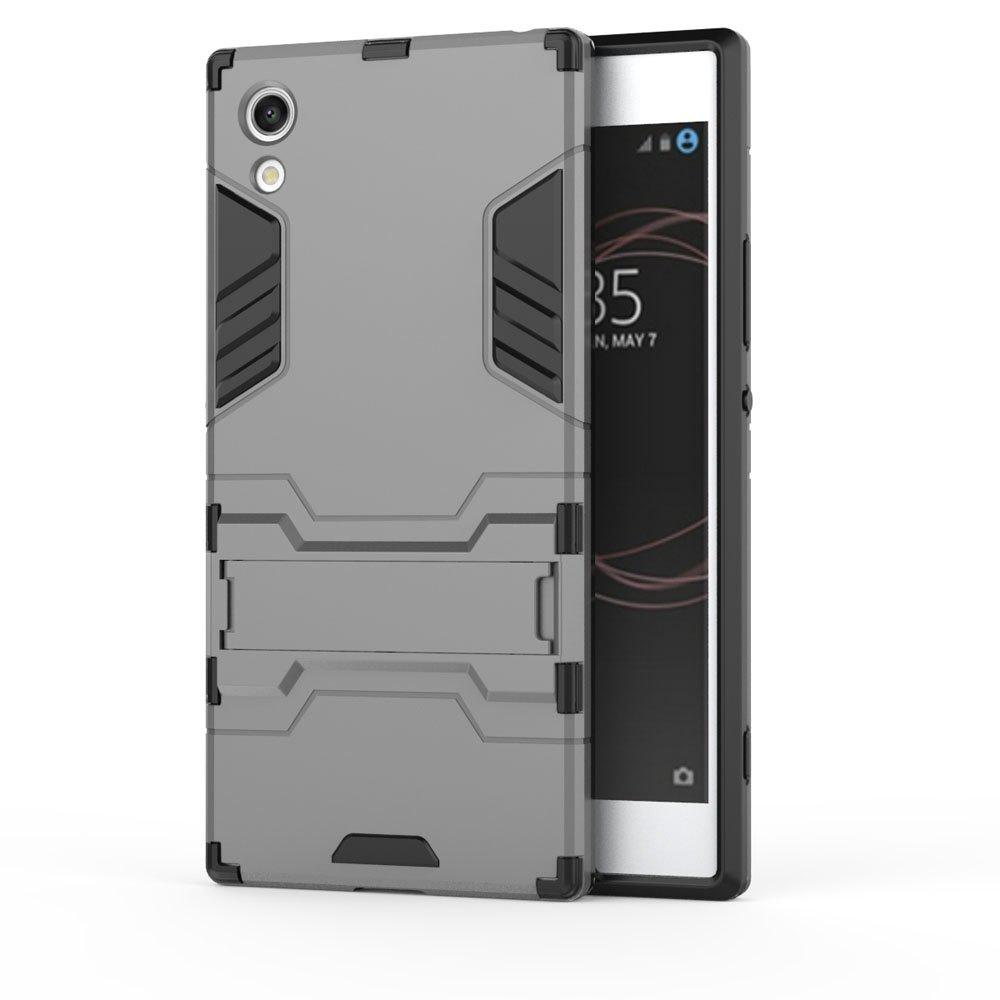 Armor Case For Sony Xperia XA1 Silicon Back Shockproof Protection Cover - GRAY
