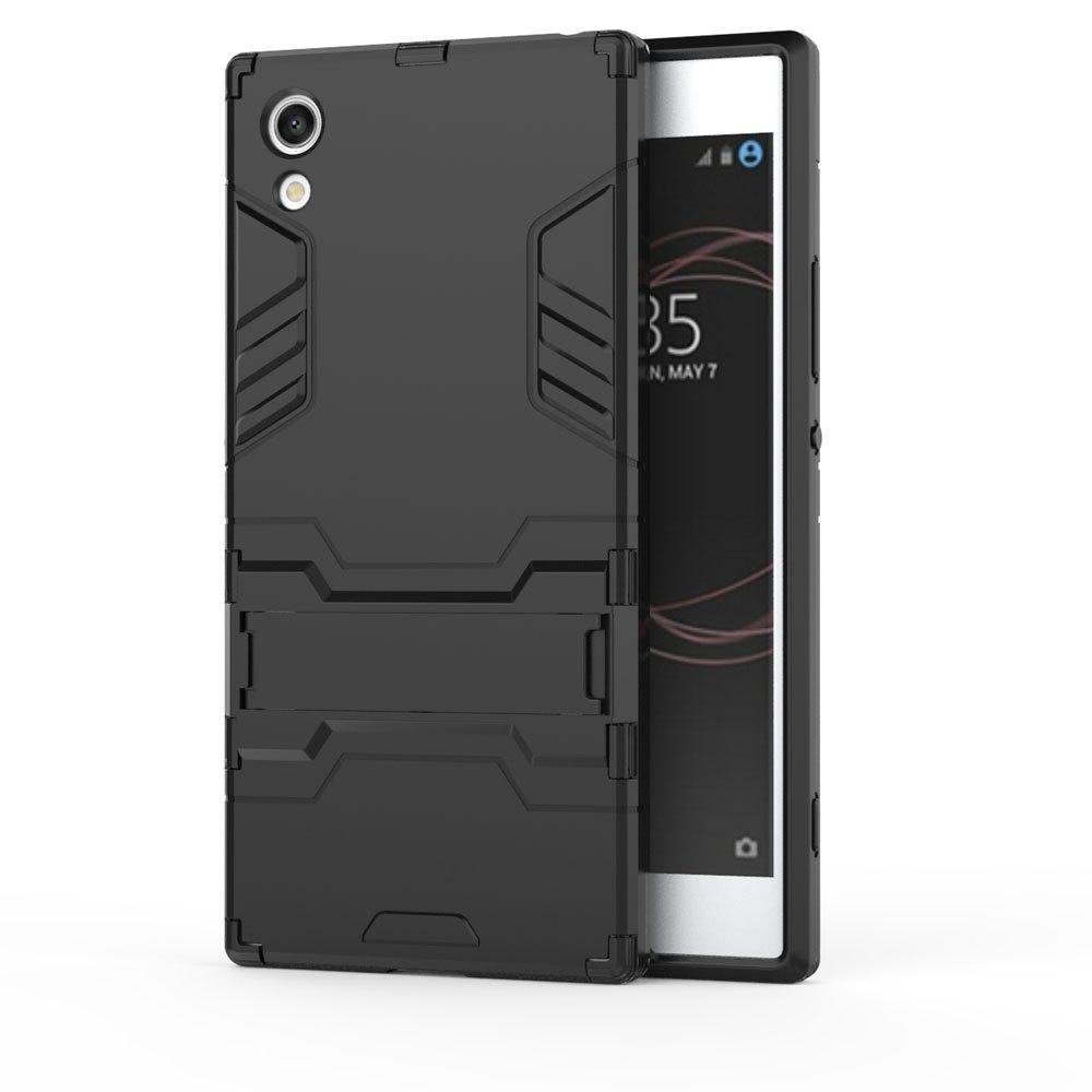 Armor Case For Sony Xperia XA1 Silicon Back Shockproof Protection Cover - BLACK