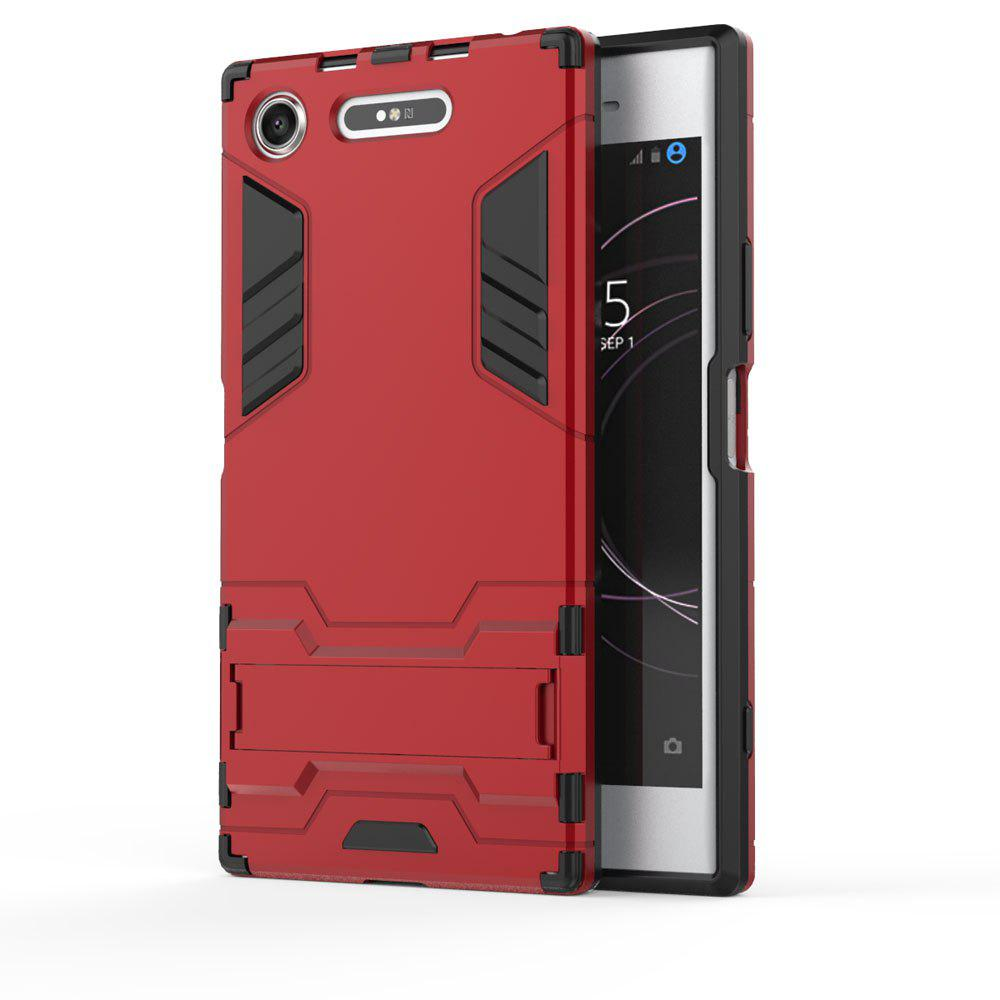 Armor Case For Sony Xperia XZ1 Silicon Back Shockproof Protection Cover - RED