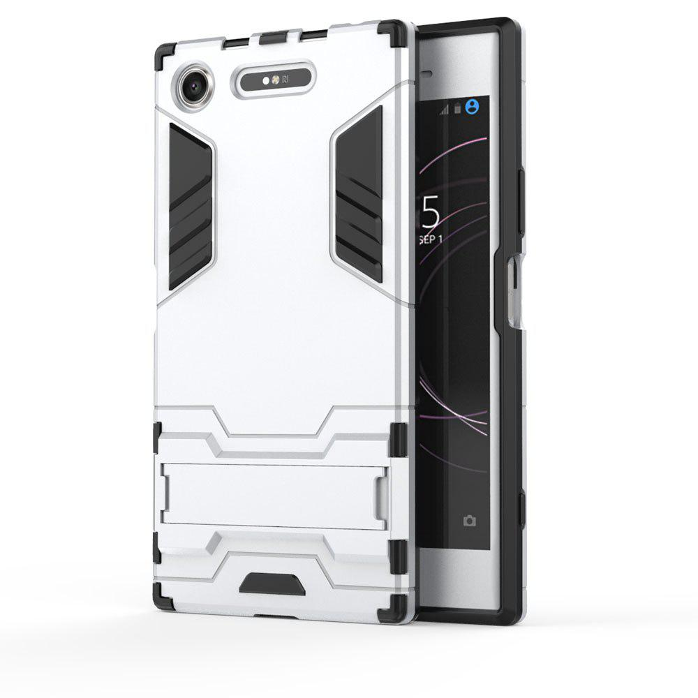 Armor Case For Sony Xperia XZ1 Silicon Back Shockproof Protection Cover - SILVER