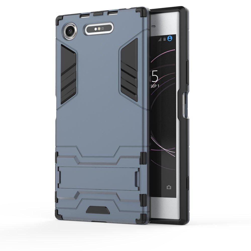 Armor Case For Sony Xperia XZ1 Silicon Back Shockproof Protection Cover - SAGE GREEN
