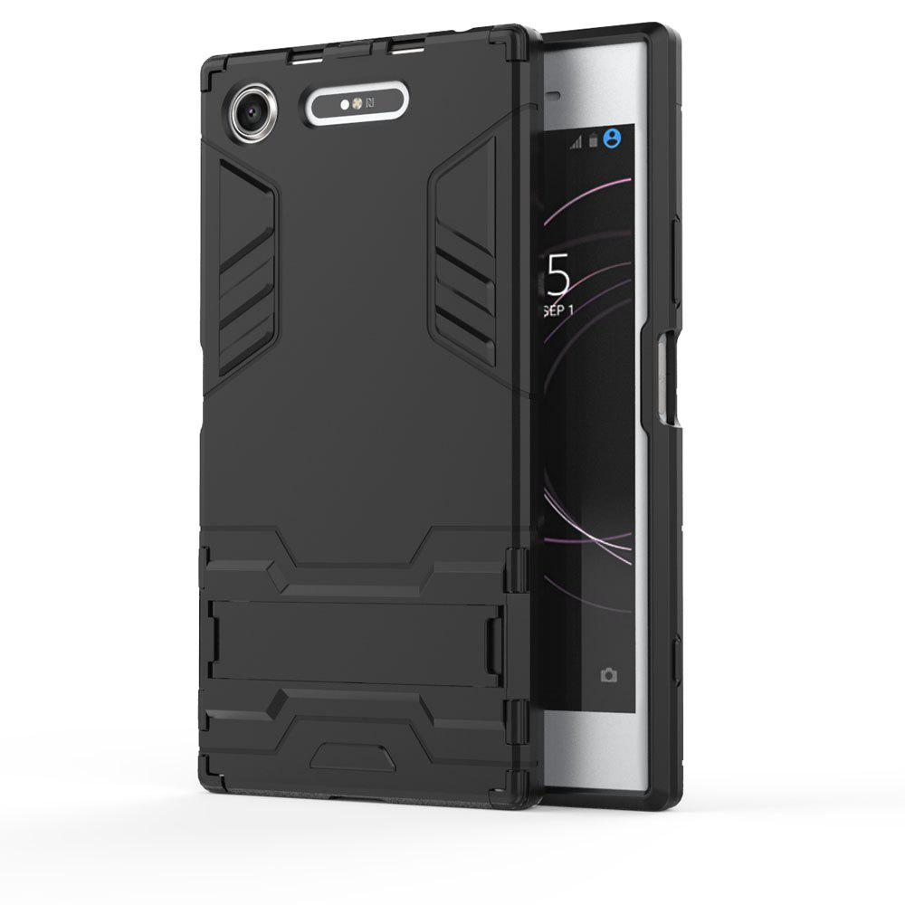 Armor Case For Sony Xperia XZ1 Silicon Back Shockproof Protection Cover - BLACK