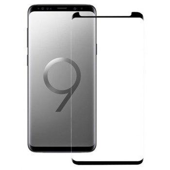 3D Toughened Glass Protective Film for Samsung Galaxy S9 - BLACK