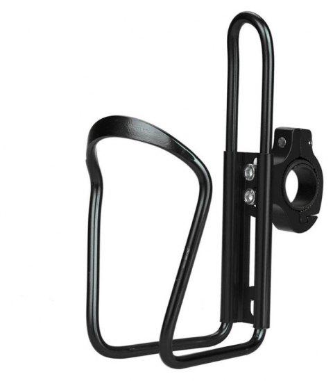 Water Bottle Cages Bicycle Alloy Aluminum Lightweight Holder Brackets - BLACK