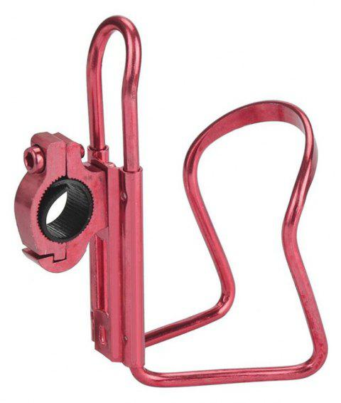 Water Bottle Cages Bicycle Alloy Aluminum Lightweight Holder Brackets - RED