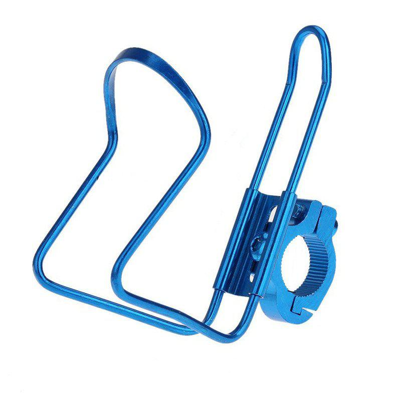 Water Bottle Cages Bicycle Alloy Aluminum Lightweight Holder Brackets - BLUE