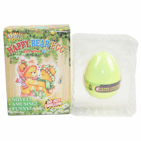 Happy Bear Egg Water Hatching Magic Children Kids Toy - SUN YELLOW