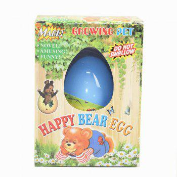 Joyeux ours Egg Water Hatching Magic enfants enfants jouet - [