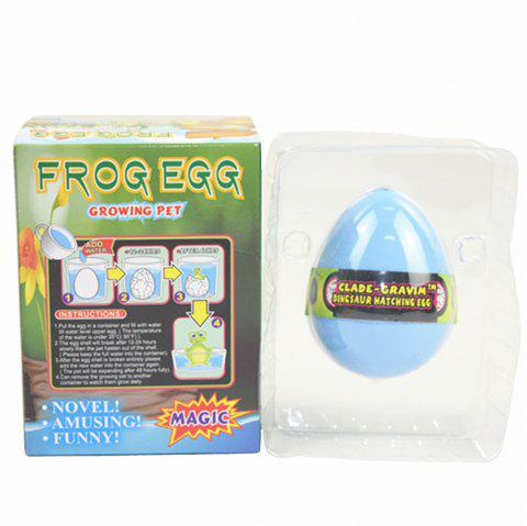 Frog Egg Growing Water Hatching Magic Children Kids Toy - POWDER BLUE