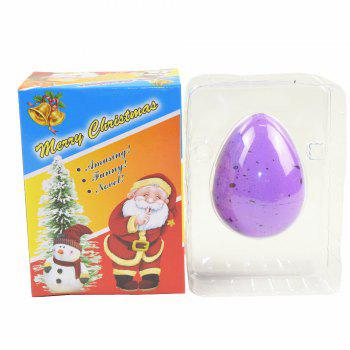 Christmas Egg Novelty Growing Water Hatching Magic Children Kids Toy - LILAC
