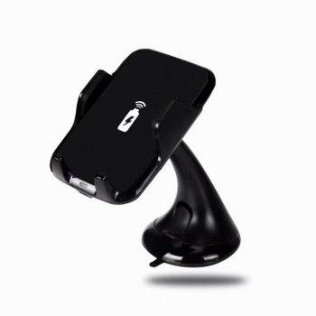 Qi Wireless Charger Car Holder Fast for Samsung S8 Plus S6 S7 Edge Note 5 8/iPhone X Mount Charging - NIGHT