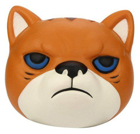 Jumbo Squishy Lente Kawaii Rising Dessin Animé Mignon Tigre Jouets - Orange Mangue