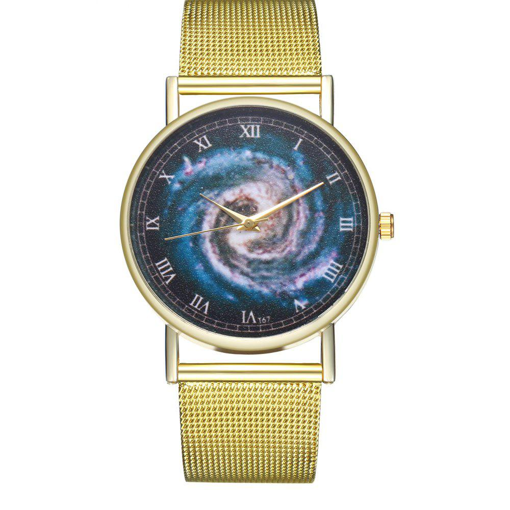 ZhouLianFa T67 Atmospheric Creative Dragon Wind Quartz Watch - GOLD