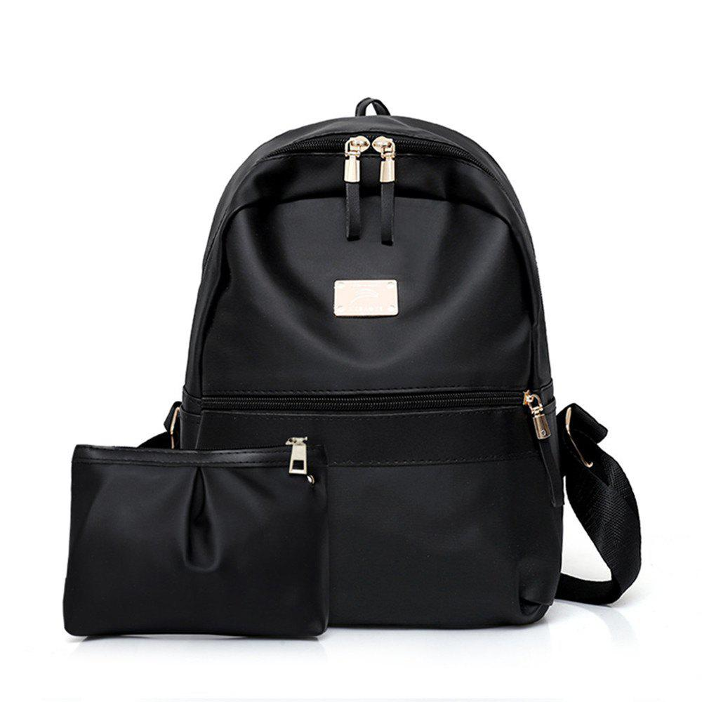 Lash Large Capacity Backpack - BLACK