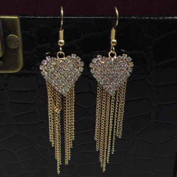 The Fashion Alloy Tipped with Lady's Ear Ring - GOLD