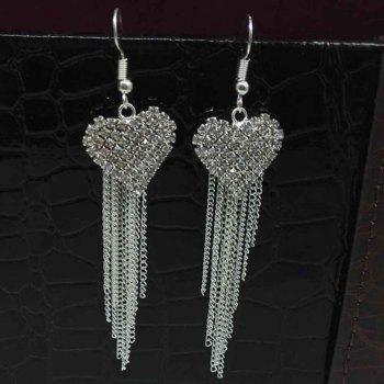 The Fashion Alloy Tipped with Lady's Ear Ring - SILVER