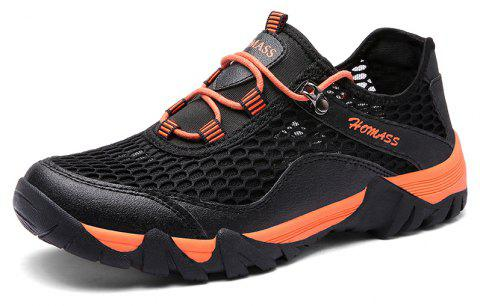 Chaussures de sport en plein air Homer New Men's Mesh - Nuit 41