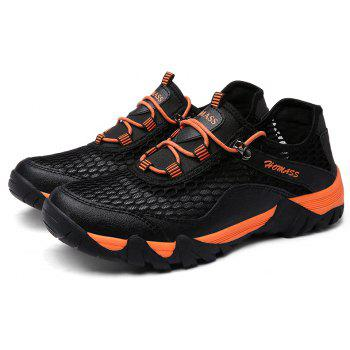 Homer New Men's Mesh Outdoor Sports Shoes - NIGHT 38