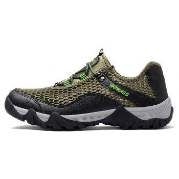Homer New Men's Mesh Outdoor Sports Shoes - SHAMROCK GREEN 45