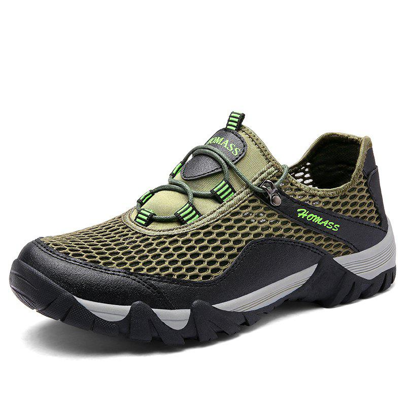 Chaussures de sport en plein air Homer New Men's Mesh - Vert Trèfle 39
